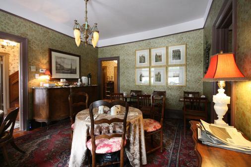Monte Cristo Inn - San Francisco - Dining room