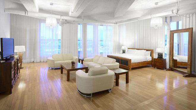Loft Hotel - Montreal - Makuuhuone
