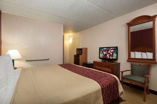 Beachfront Palms Hotel - Galveston - Bedroom