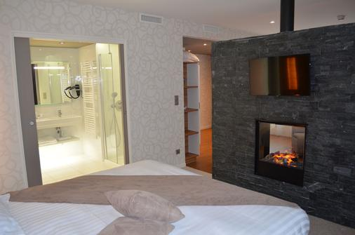 Brit Hotel Saint Brieuc Plérin - Plérin - Schlafzimmer