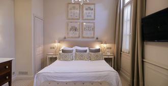 Hotel d'Europe - אביניון - חדר שינה