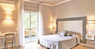 ホテル ラ ジェンツィアーナ - ローマ - 寝室