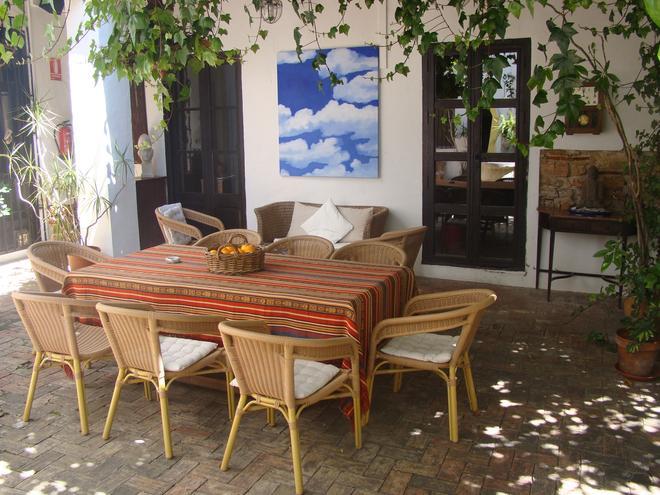 Art Boutique Hotel Chamarel - Denia - Patio