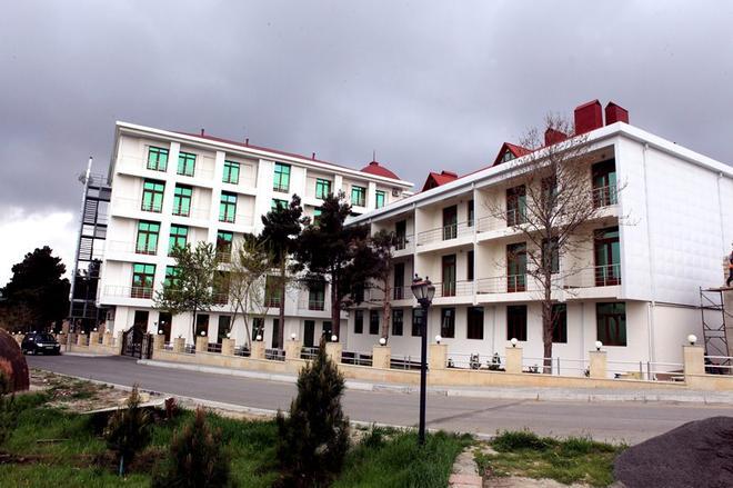 Kapaz Hotel & Resort Naftalan - Naftalan - Building