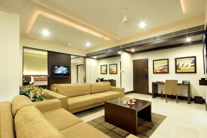 Hotel Express Residency - Vadodara - Living room