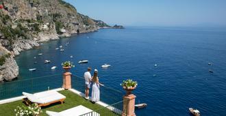 Hotel Onda Verde - Praiano - Vista del exterior