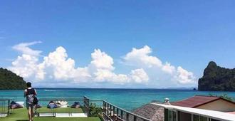 The Beacha Club - Ko Phi Phi - Takterrasse