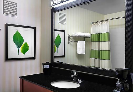 西雅圖貝爾維尤雷德蒙費爾菲爾德套房酒店 - 貝爾維 - 貝爾維尤 - 浴室