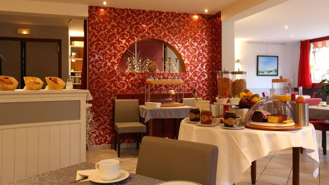 Hôtel La Terrasse Fleurie - Divonne-les-Bains - Restaurante