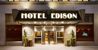 Hotel Edison - New York - Building