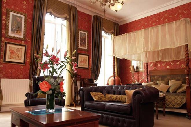 倫敦中心豐裕酒店 - 倫敦 - 倫敦 - 客廳
