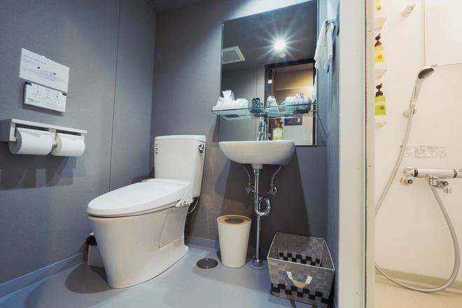 Grids Tokyo Asakusabashi Hotel&Hostel - Tokio - Kylpyhuone