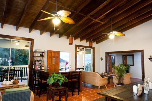 Two Sandals by the Sea Inn - B&B - Saint Thomas Island - Living room