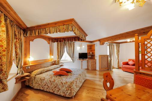 Hotel Spol - Feel At Home - Livigno - Makuuhuone