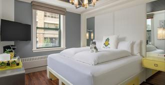 Staypineapple, A Delightful Hotel, South End - בוסטון - חדר שינה