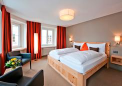 Hotel Donatz - Samedan - Schlafzimmer