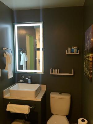 大學套房酒店 - 天普 - 坦佩 - 浴室