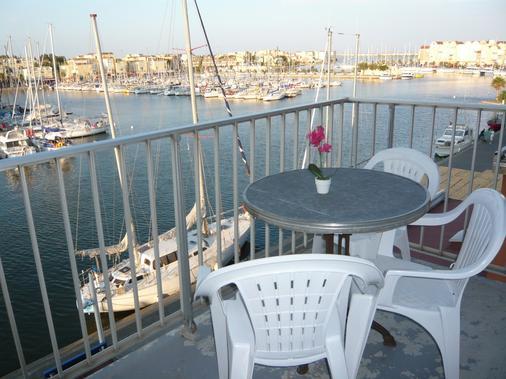 Hotel Port Beach - Gruissan - Balcony