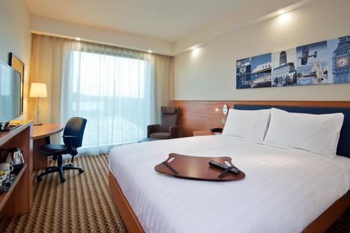Hampton by Hilton London Luton Airport - Luton - Phòng ngủ