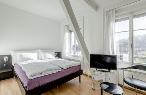 The Tourist City & River Hotel Lucerne - Lucerne - Bedroom