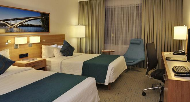 斯德哥爾摩國王島萬怡酒店 - 斯德哥爾摩 - 斯德哥爾摩 - 臥室