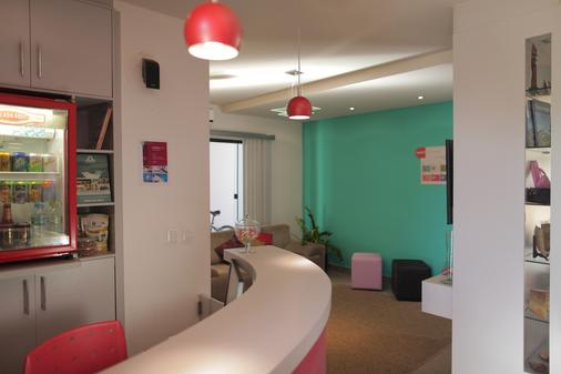 Concept Design Hostel & Suite - Foz do Iguaçu - Front desk