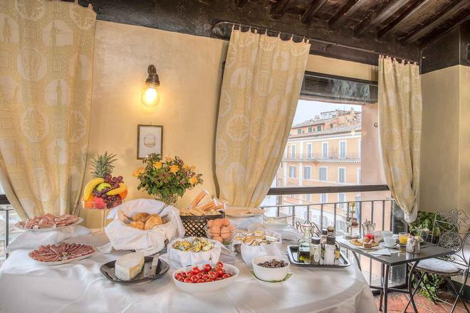 Hotel Fontana - Roma - Buffet