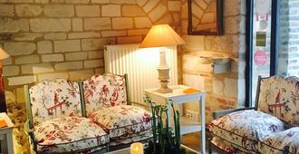 Hotel la Maison de Rhodes - Troyes - Wohnzimmer