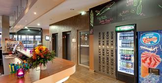 Meininger Hotel Frankfurt Main / Airport - פרנקפורט אם מיין - לובי