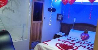 Motel Piramides De Cristal - Bogotá - Bedroom