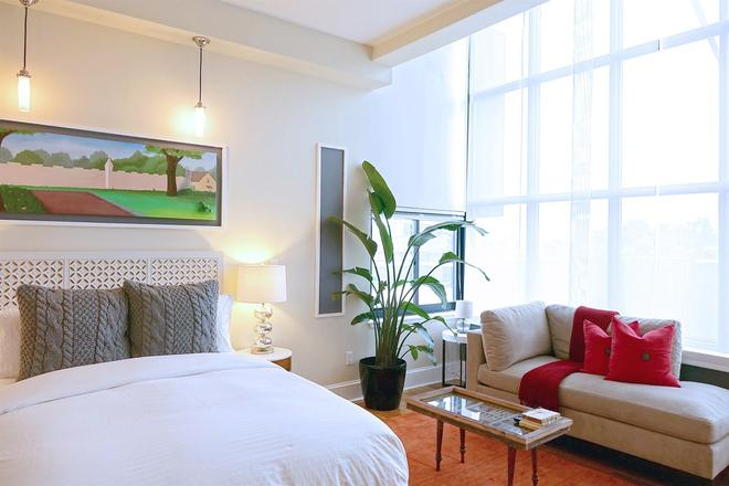Henry Norman Hotel - Brooklyn - Makuuhuone