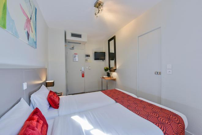 Coeur De City Hotel Bordeaux Clemenceau By Happyculture - Bordeaux - Camera da letto