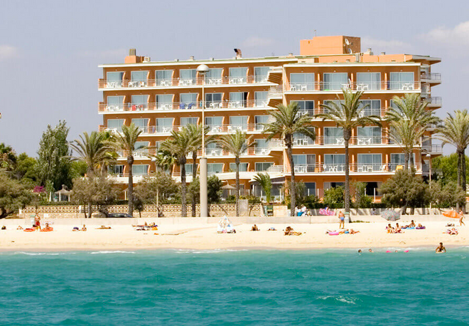 Hsm Hotel Golden Playa - Mallorca - Ranta