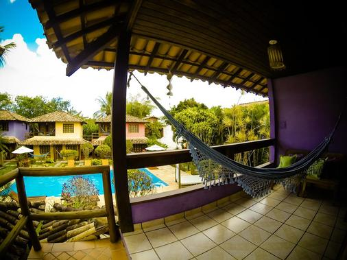 Hotel Pousada Machê - Arraial d'Ajuda - Balcony