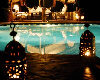 Ecolodge Bab El Oued Maroc Oasis - Tammougalt - Pool