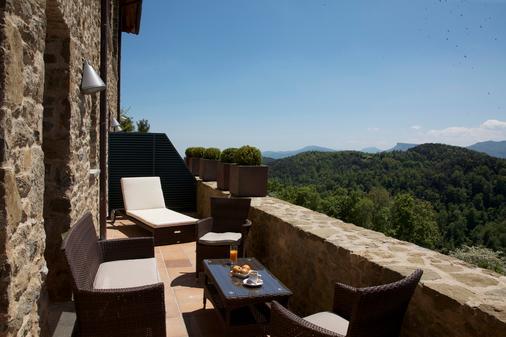 Hotel Restaurante El Ventós - Sant Aniol de Finestres - Balcony