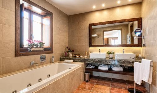 Hotel Restaurante El Ventós - Sant Aniol de Finestres - Bathroom