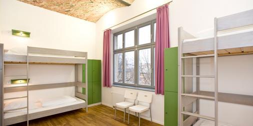 Pfefferbett Hostel - Berliini - Makuuhuone