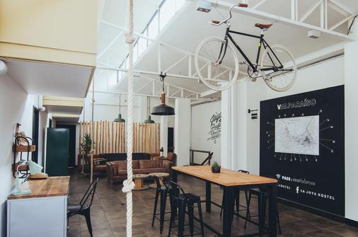 La Joya Hostel - Valparaíso - Sala pranzo
