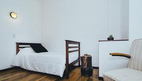 La Joya Hostel - Valparaíso - Schlafzimmer