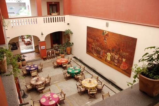 Hotel Casa Antigua - Oaxaca - Restaurant