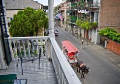 905 皇家酒店 - 新奥爾良 - 新奧爾良 - 陽台
