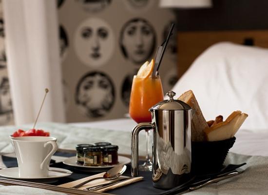 希豪維特酒店 - 比亞里茲 - 比亞里茨 - 飲食