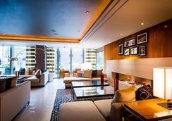 倫敦西印度碼頭萬豪行政公寓 - 倫敦 - 倫敦 - 休閒室