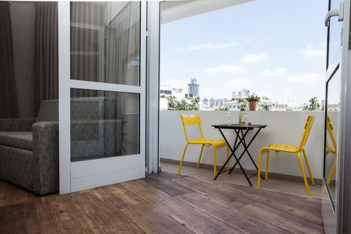 The White House Hotel At Dizengoff Square - Tel Aviv - Balkon
