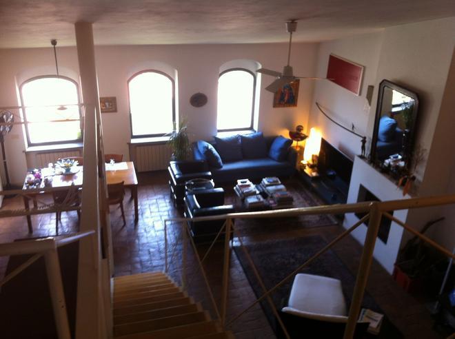 B&B Galleria Turchi - Montalcino - Living room