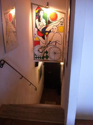 B&B Galleria Turchi - Montalcino - Stairs