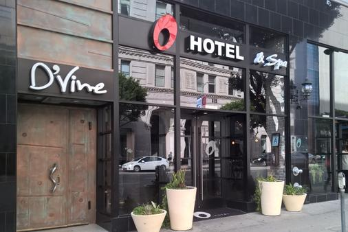 O Hotel - Los Angeles - Bâtiment
