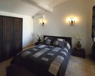 Mas Dansavan Chambres d'Hôtes - Oppede - Bedroom
