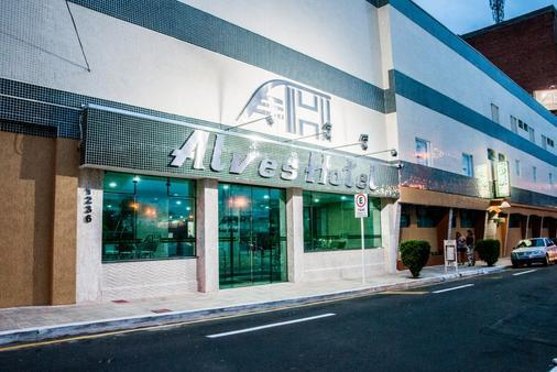 Alves Hotel ltda - Marília - Building